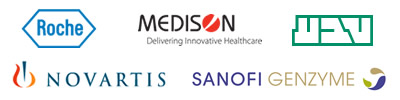 Novartis    Roche    Medison    Teva    Sanofi-Genzyme
